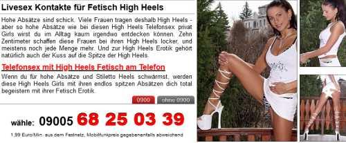 highheels stiefel