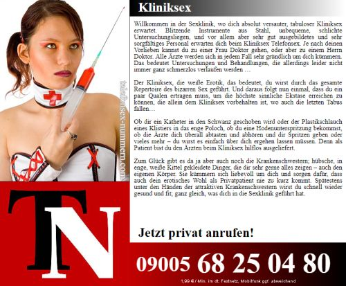 klinik sex am telefon