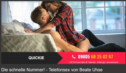 schnelle Nummer Quickysex